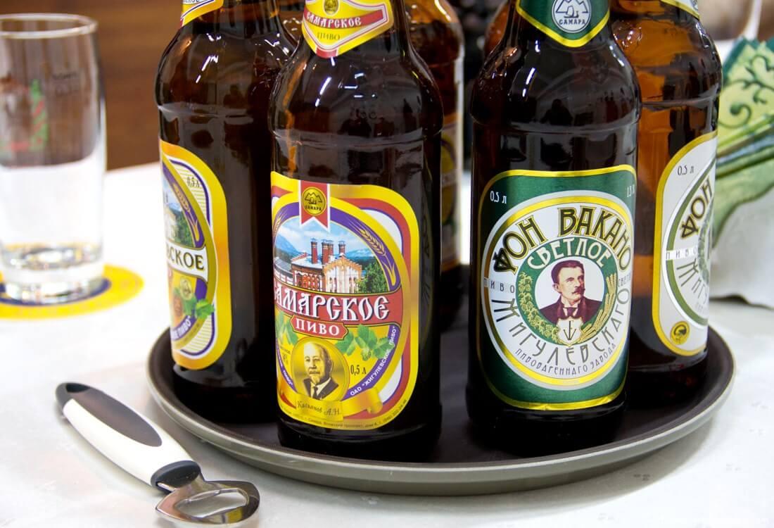 Экскурсия на пивоваренный Жигулевский завод с дегустацией