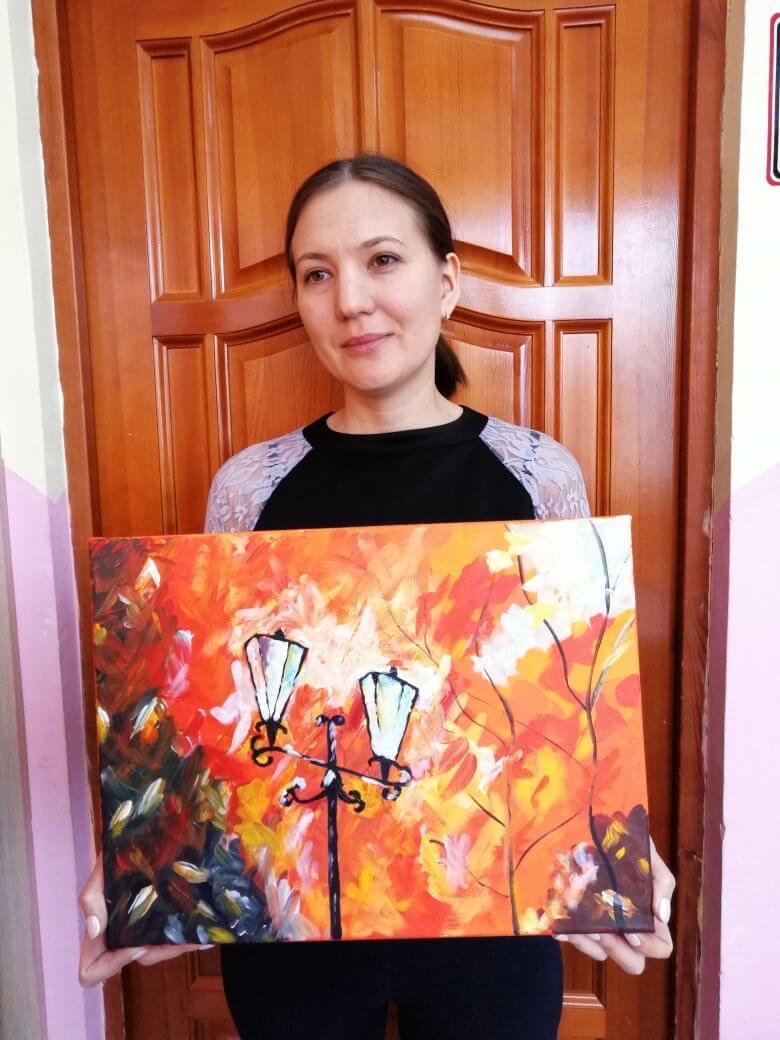 Мастер-класс по интуитивной живописи